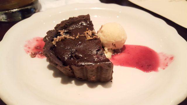 Chocolate Tart at Ravenous Pig