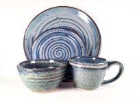 4 Piece DInnerware Set  Bungalow Potter   craftsman ...