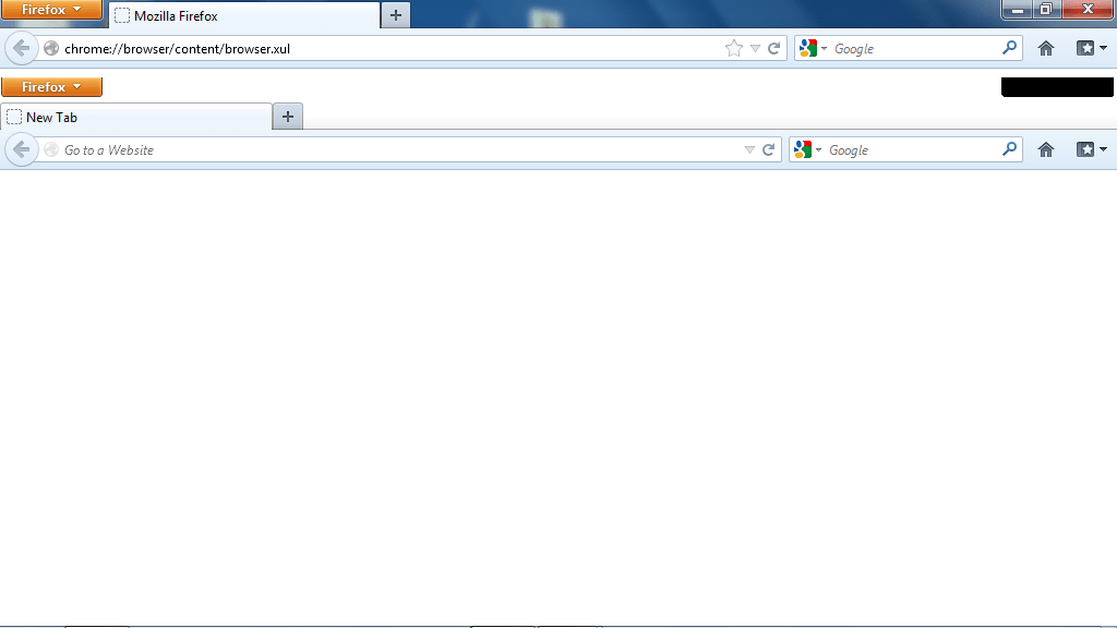 Screenshot showing Firefox inside Firefox