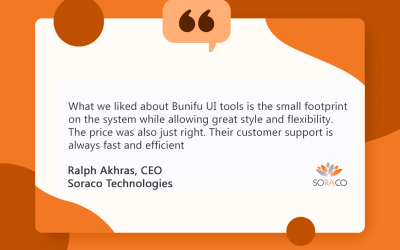 How Bunifu Framework controls helped Soraco Technologies create better user experience (UX)