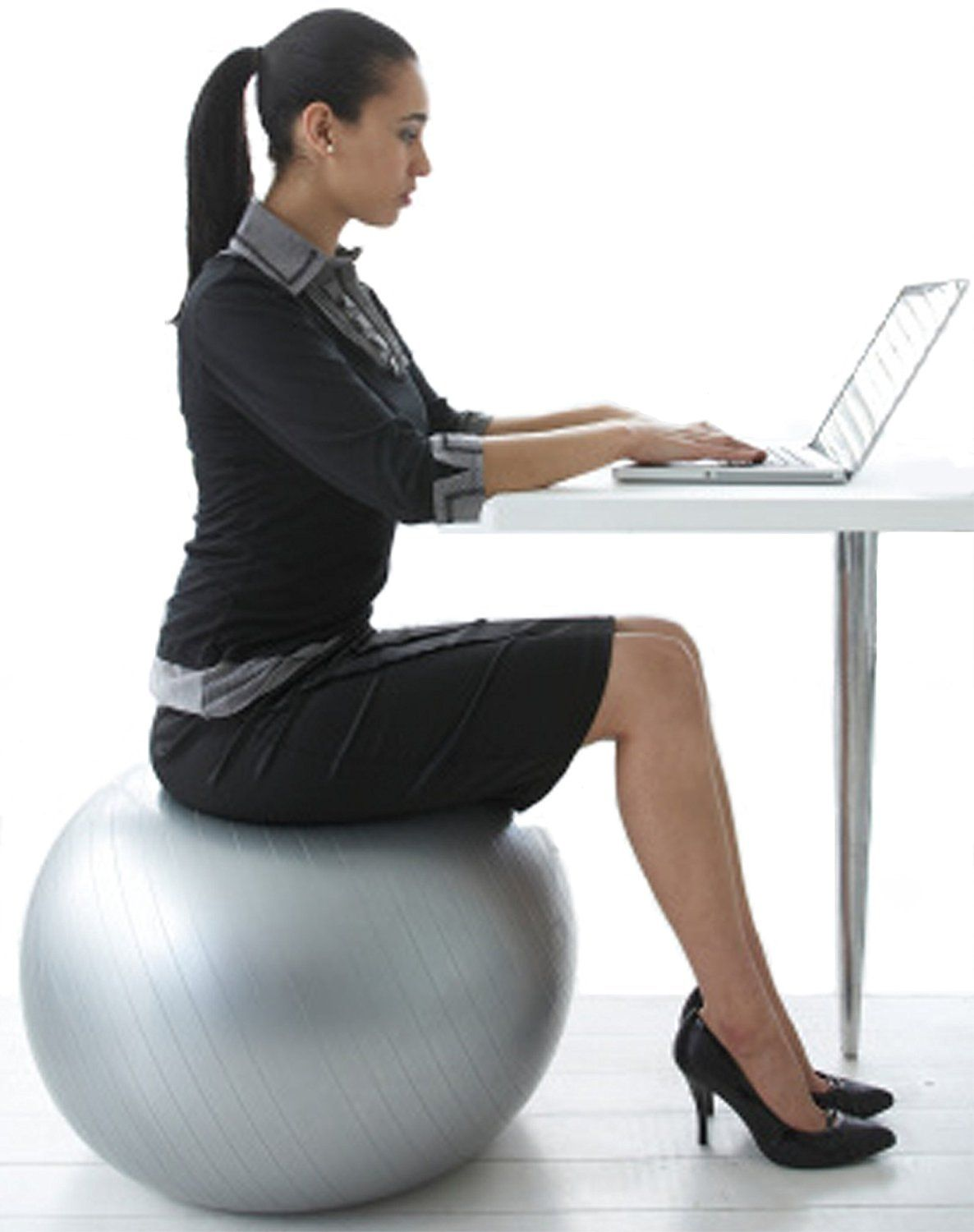 Office Chair Exercises Yoga Ball Chairs Balance Ball For Stability Guide And Review