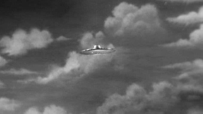 A flying saucer from Plan 9