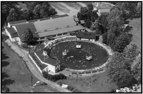 Sunnybrook Ballroom, Pottstown, PA, one of the prime venues on the big band circuit, and a site of many notable events in Bunny Berigan's career.