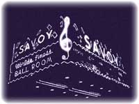 The Savoy Ballroom in Harlem, NYC. Few white bands were invited to play there because of their lack of swing. Berigan played there a number of times, always to great acclaim.