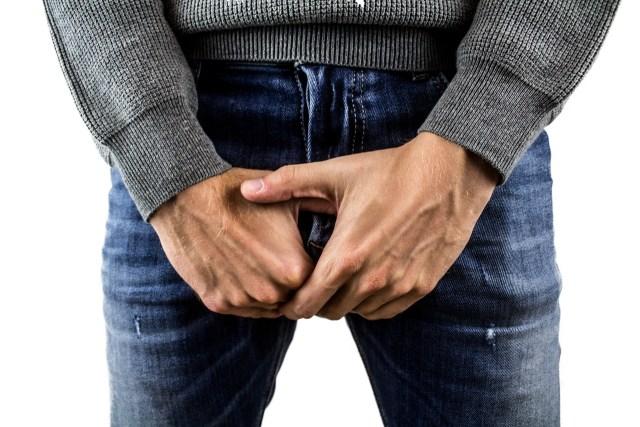 boyfriend jeans foreskin pants