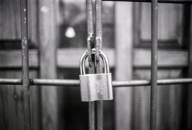 lock on cage