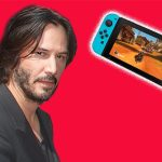 Keanu Reeves Just Ate A Switch