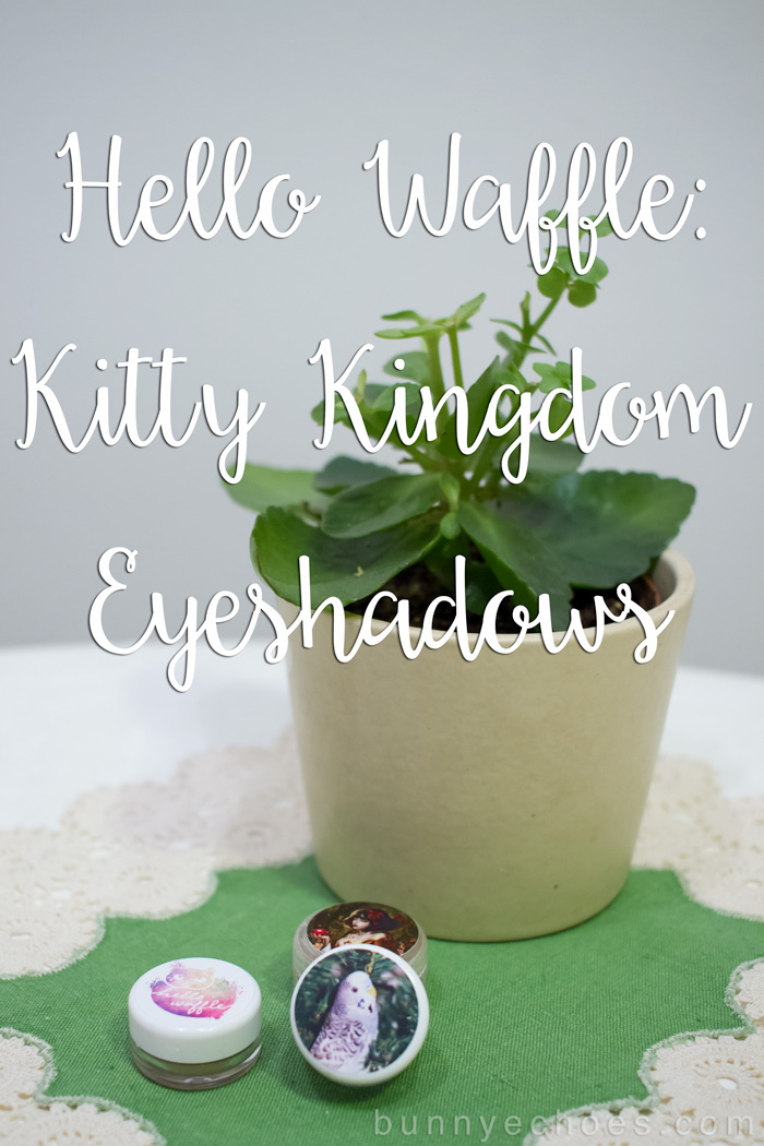 Hello Waffle: Kitty Kingdom Eyeshadows