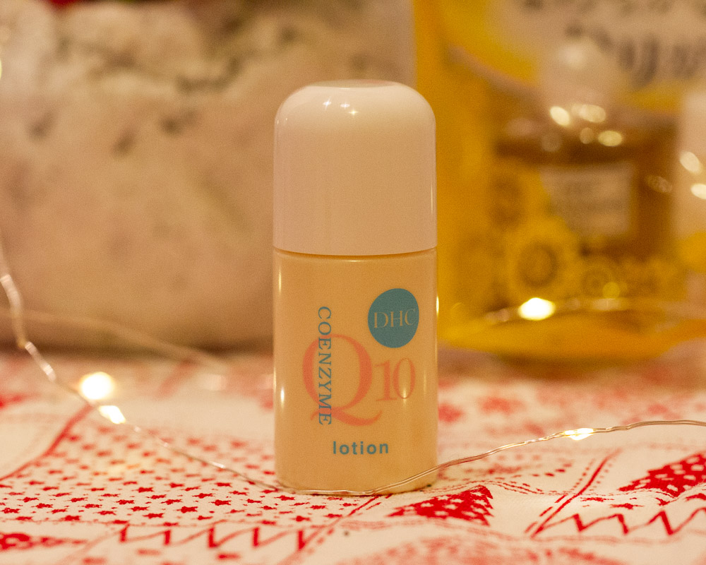 DHC CoQ10 Lotion review bunnyechoes