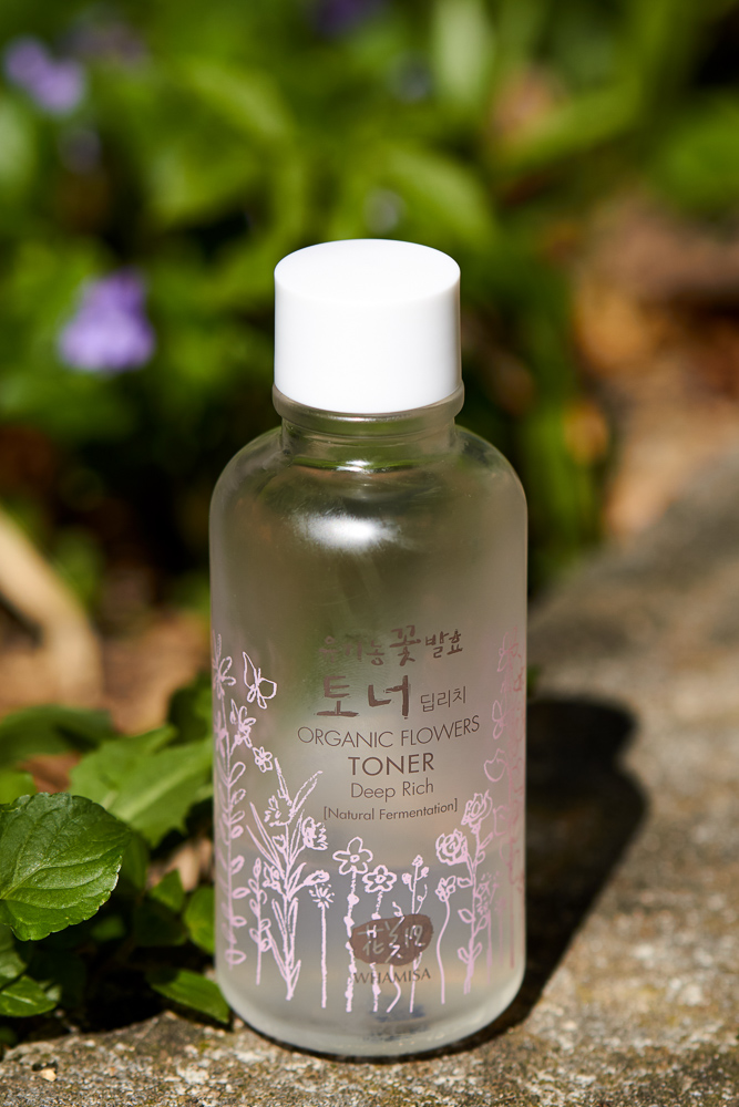Whamisa Organic Flowers Toner Deeptle Rich bunnyechoes bottle