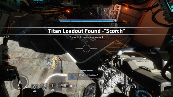 BT will gain new Titan loadout as the story progresses.