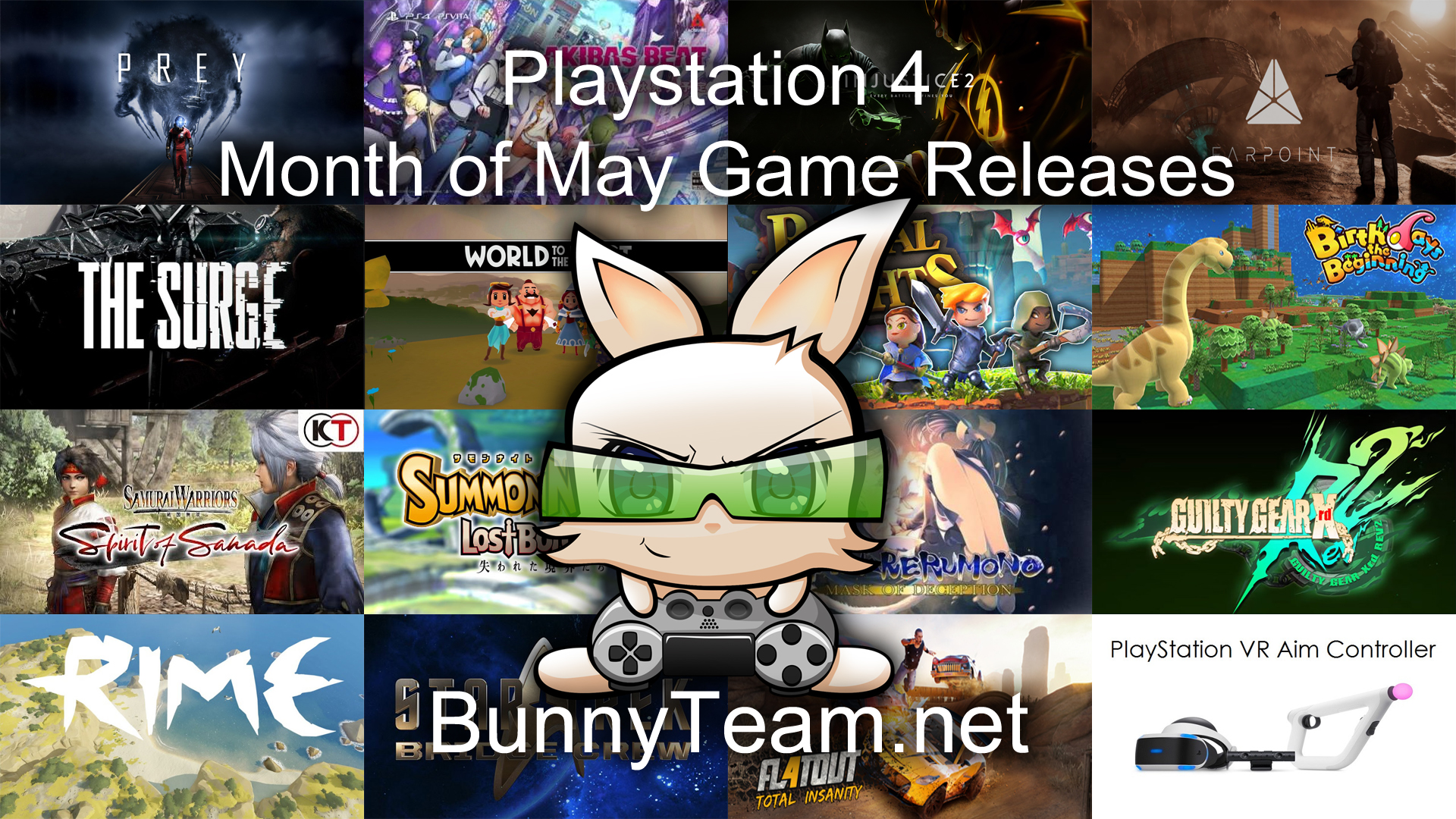 Playstation 4 May Releases