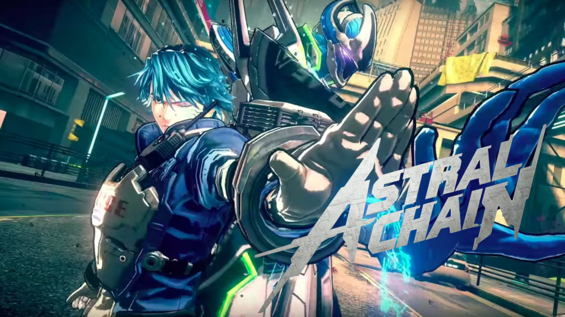 Review Astral Chain Anime Cyberpunk Police In Action