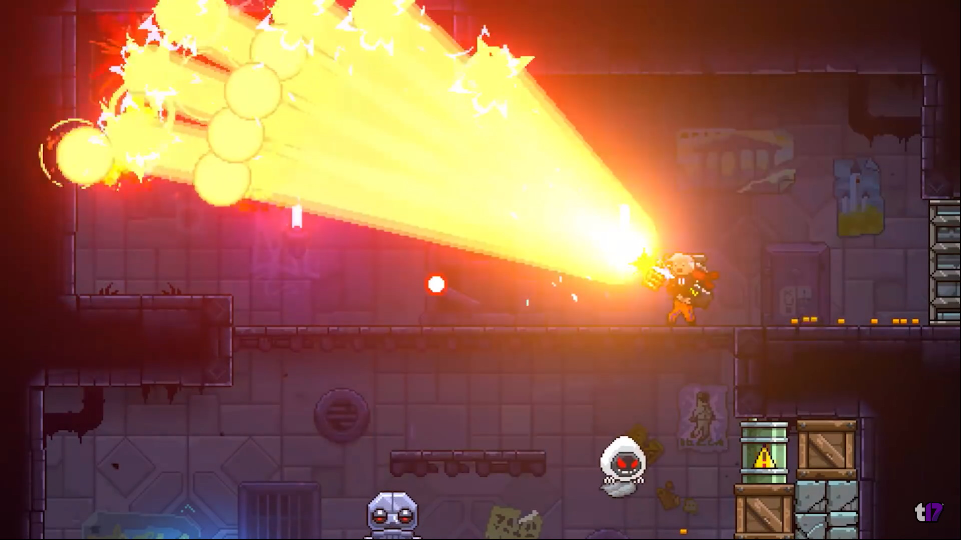 2d Roguelite Action Neon Abyss Set For Launch This July 14th Bunnygaming Com