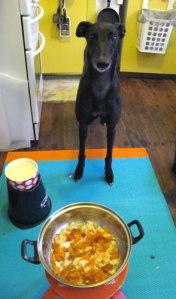 Mumma, may I eat now please?