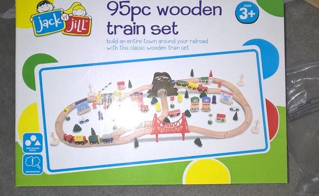 Wooden Train Set Ebay Review Jack N Jill 95 Piece 4 Metre
