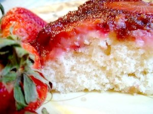 Strawberry Upside Down Cake