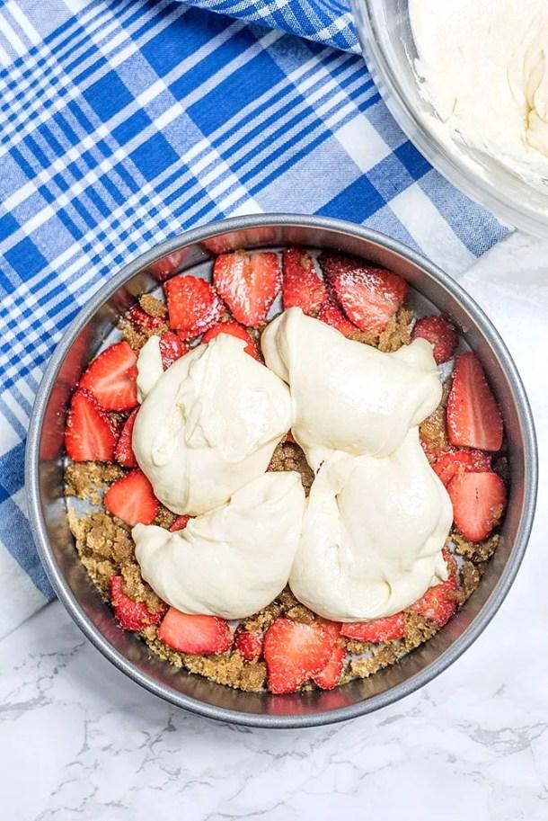 Strawberry Upside Down Cake