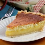 Lemon Sponge Pie