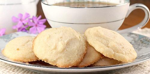 Shortbread Drop Cookies