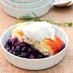 Blueberry Lemon Pudding Cake