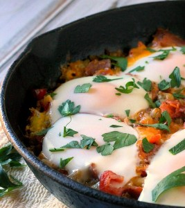 Skillet Hash Brown Breakfast