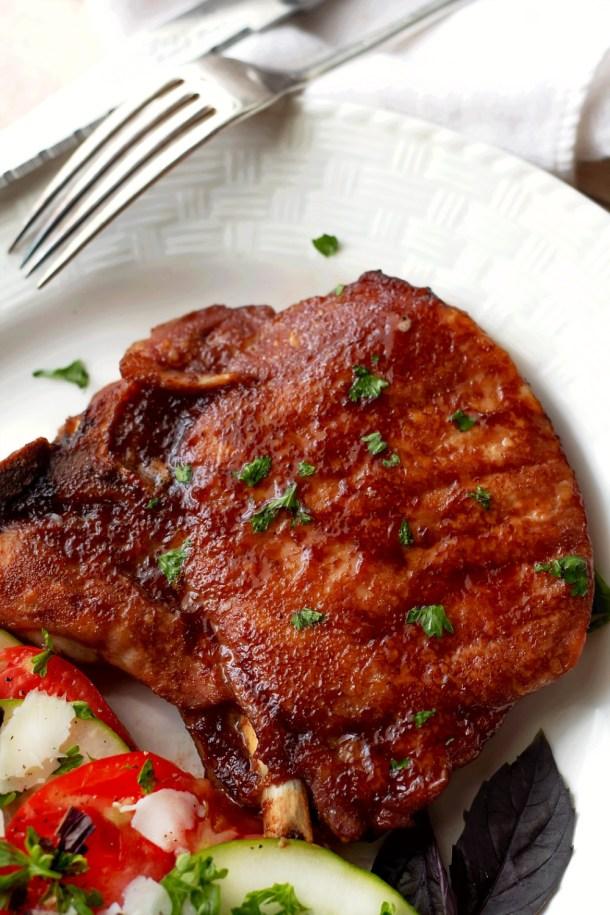 Oven Baked Pork Chop Sauce