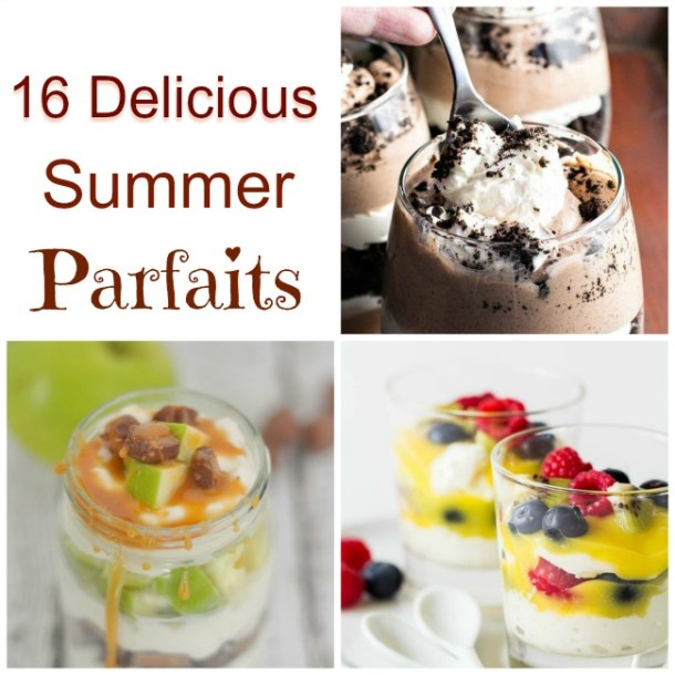 16 Delicious Summer Parfaits
