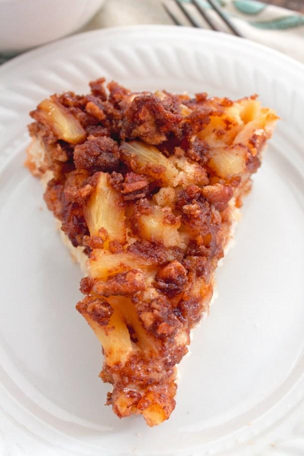 Pineapple Pecan Coffee Cake