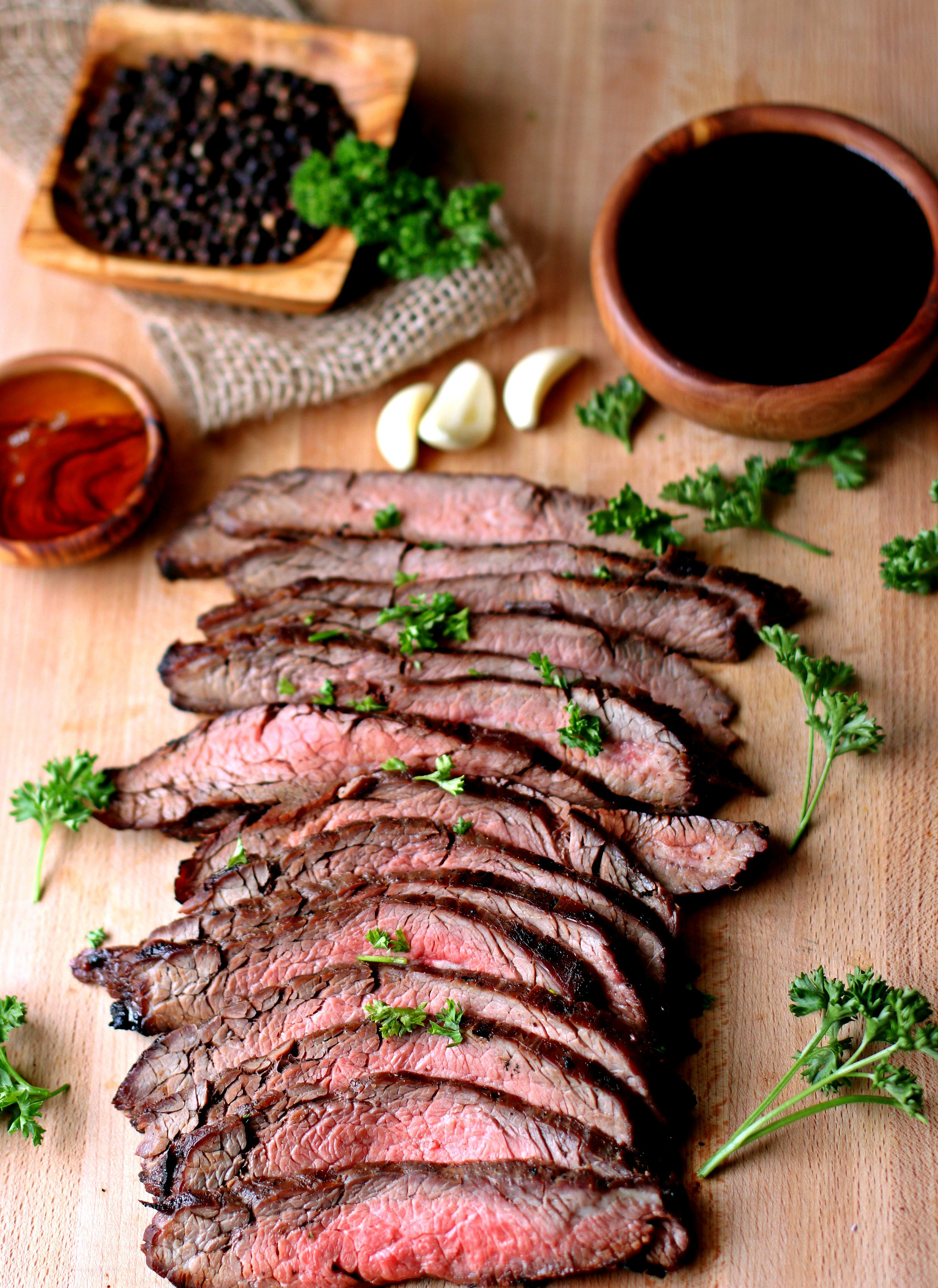 Marinated Flank Steak - Bunny's Warm Oven