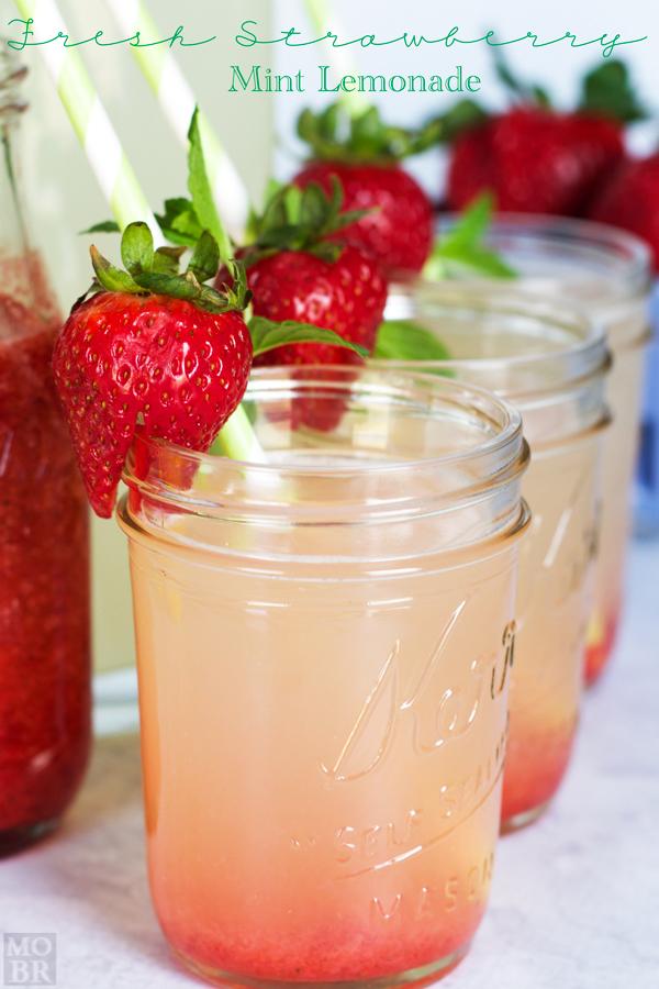 Fresh Berry Mint Lemonade