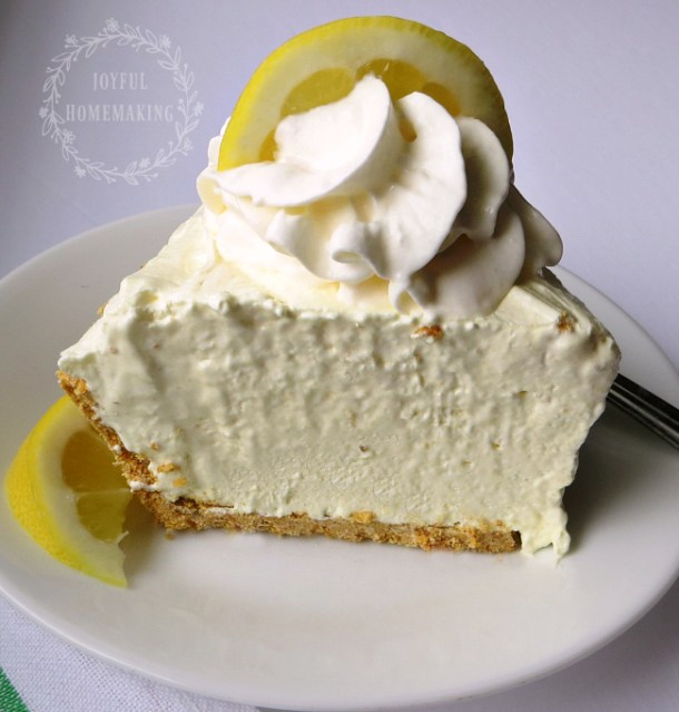 Ice Box Lemon Pie