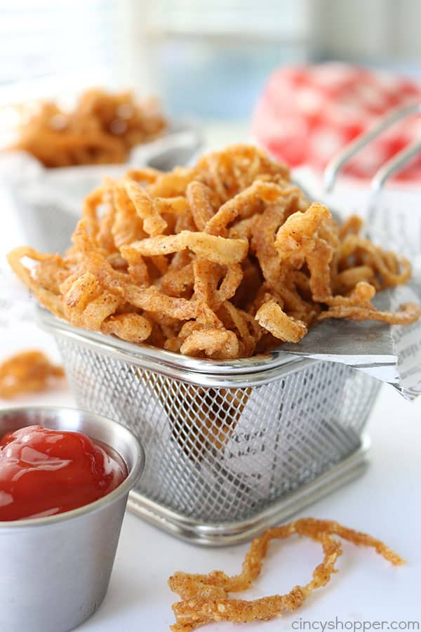 Homemade Onion Strings