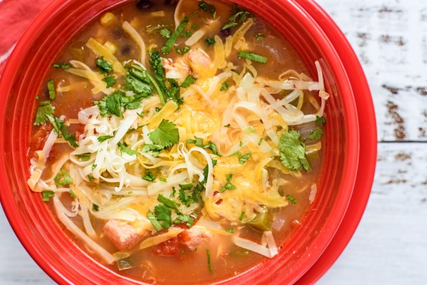 Chicken Fiesta Soup