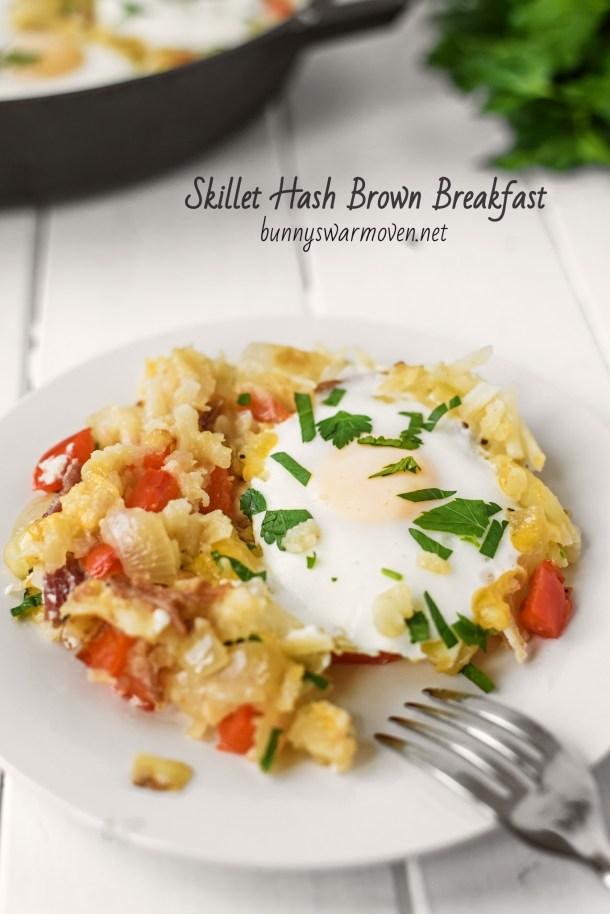 Skillet Hash Brown Breakfast