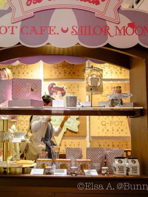 Sailor Moon Q-Pot Collaboration Cafe