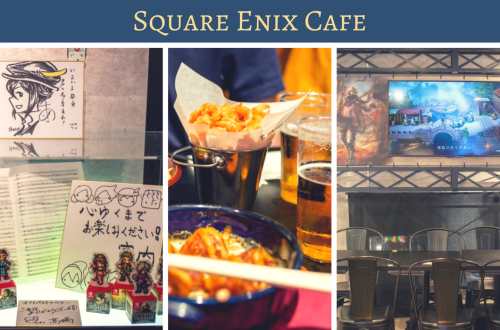 Octopath Travaler Collaboration at Square Enix Cafe