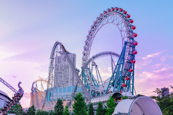 Tokyo Dome - An Amusement Park in the middle of Tokyo.