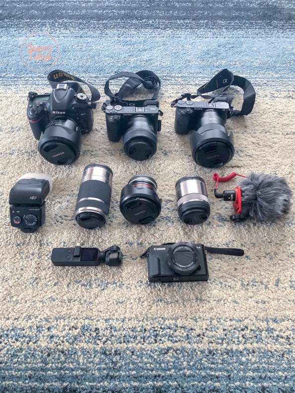 My Photography + Video Gear: What I use to Insta, Blog & Vlog.