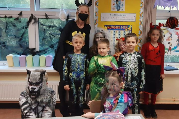 Halloween in Ms Shelly/Ms Hegarty's Class