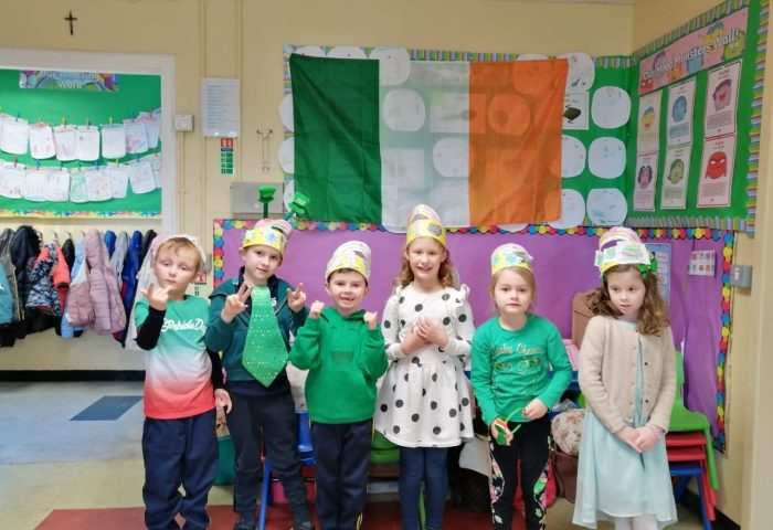 March Madness in Senior Infants with Ms Collins!
