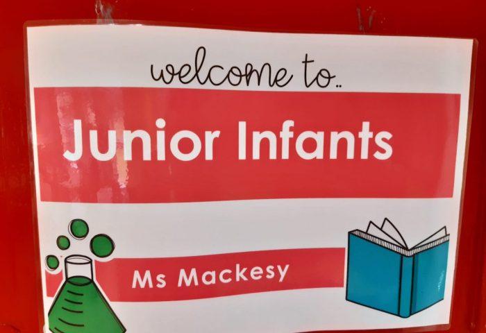 Starting school in Ms. Mackesy's Class