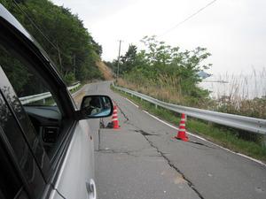 牡鹿半島の道路