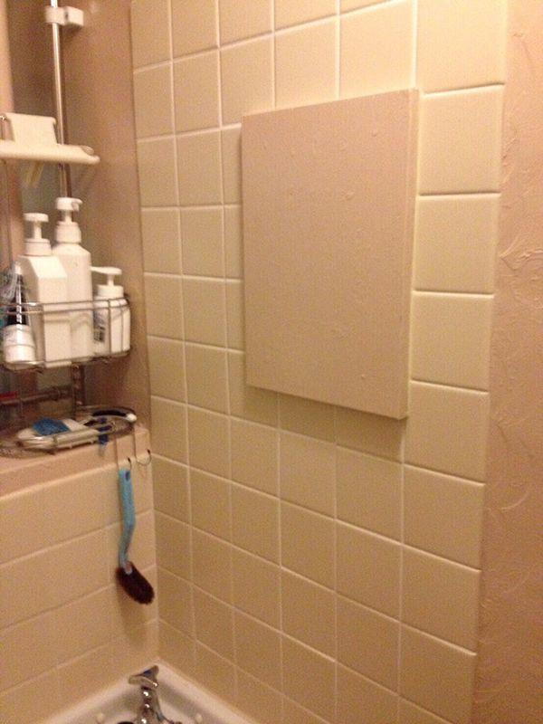 なぜか鏡がペンキで塗られている、2軒目の事故物件の浴室