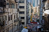 Gage Street/Central-Mid-levels escalators, Hong Kong