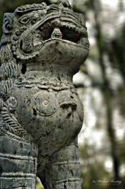 Lion Guardian, Nepal Peace Pagoda, Parklands, South Bank, Brisbane, Queensland