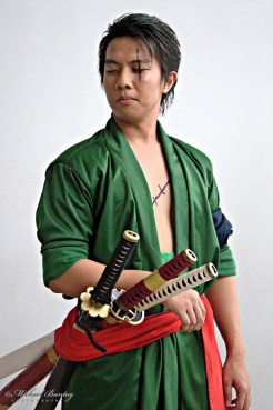 Roronoa Zoro One Piece Cosplayer, Cosplay Mania 2012, SMX Convention Center, Mall Of Asia, Pasay, Manila