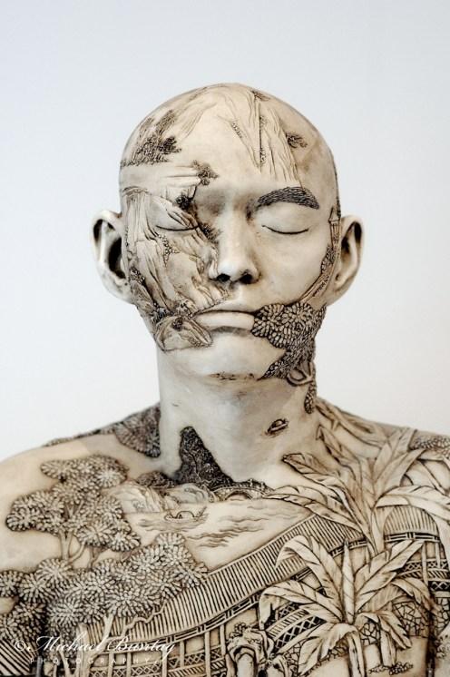 Ah Xian bust, Queensland Art Gallery and Gallery of Modern Art, Cultural Centre, Parklands, South Bank, Brisbane, Queensland
