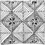 Zentangle Muster Galerie