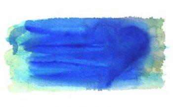 Aquarellhintergrund Blau